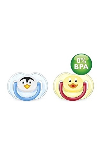 Philips Avent 0% Bpa Free Flow Yalancı Emzik Truman Serisi 2 Li Bebek (0-6 Ay) Pembe